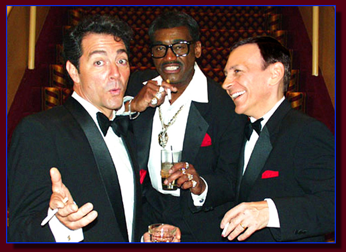 The Rat Pack Tribute with the top Rat Pack Impersonators.