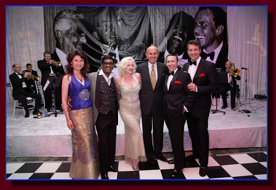 Rat Pack Tribute and Lee Baca