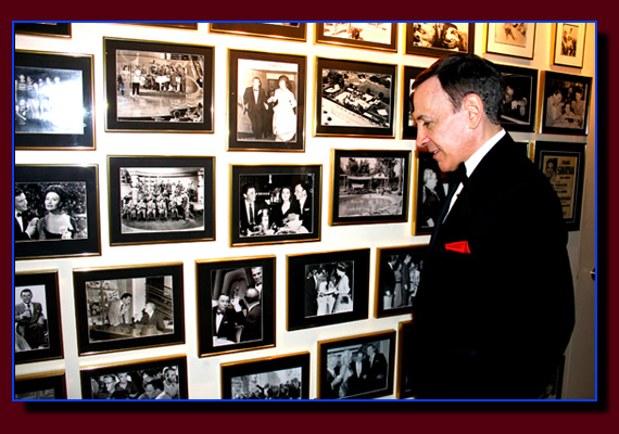 A photo at the Frank Sinatra residence in the Palm Springs area